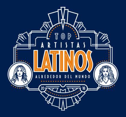 Top Artistas Latinos Alrededor Del Mundo