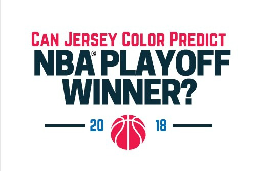 Can Jersey Color Predict the NBA Playoff Winner?