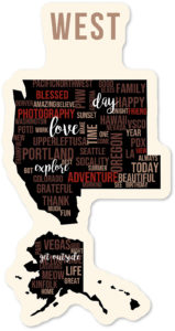 Western United States most thankful for