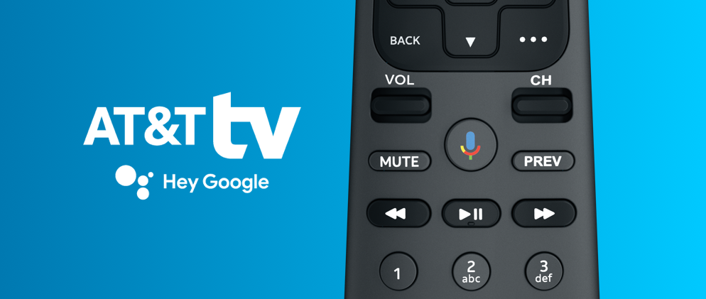 Hey Google and AT&T TV: a Match Made in Heaven Hero image